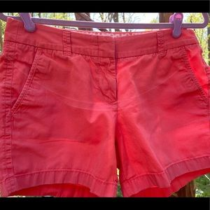 Women's J. Crew Relaxed Fit Chino Shorts Size 6